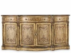 HOOK-965/85/122 - Hooker Accent Credenza $2014.  Custom order at Mathis Brothers Furniture, Tulsa, Oklahoma.  Please ask for Dessie at the reception desk.