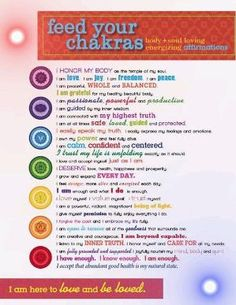 Chakra Balancing - Healing The Seven Chakras - Reiki Temple Mind Body Spirit, Mind Body Soul, Holistic Healing, Natural Healing, Crystal Healing, Yoga Meditation, Healing Meditation, Chakra Affirmations, Positive Affirmations For Anxiety