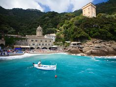 The Cathedral by the Sea. San Fruttuoso Abbey and its legends #sanfruttuoso #camogli #ligury