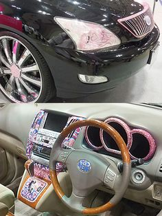 Bling Car At the Hobby Show in Tokyo