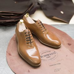 f9a650b2c46c Carmina shoemaker — Introducing our  horweenleather Natural Shell...  Cordovan Shoes