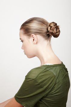 How to Get a Braided Bun | StyleCaster