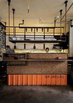Single Origin Cafe, Surry Hills Sydney. Design by Luchetti Krelle. Photo by Michael Wee.