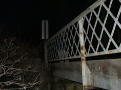 Near Slippery Rock, we have another site with spirits... Deadman's Bridge.  You can find the haunted bridge by heading east on St. John's Road near Slippery Rock's Old Stone House.  Rumor has it that if you stop on the bridge, you will see car headlights and hear screams from a husband and wife killed in a tragic accident.