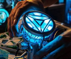 Upgrade your puny human body and become the hero you've always dreamed with the Iron Man Arc Reactor.This handmade replica is made with such craftsmanship that it's sure to be the crown jewel in your vast collection of Marvel memorabilia.