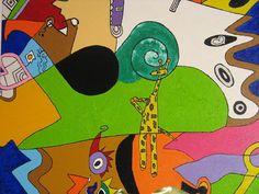 """Acrylmalerei - """"Picasso in Love""""_""""Märchenhaft verschlüsselt"""" - ein Designerstück von n8kunst-z-wergk bei DaWanda"""