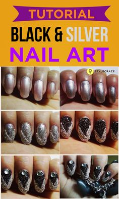 like to be a bit different, a bit creative, then this nail art will surely be something to stand out in a crowd and make heads turn.