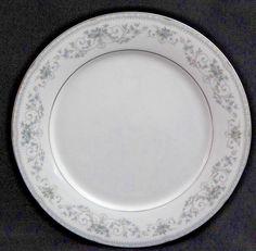 """Noritake China Colburn Pattern #6107 - 10 1/2"""" Dinner Plate Plates #Noritake"""