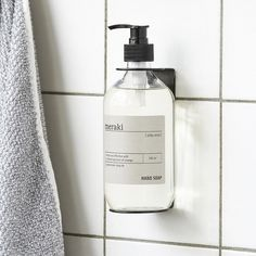 Designstuff offers a wide range of Scandinavian homewares including this minimalist Soap Dispenser Holder in Black