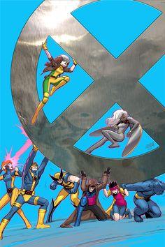 X-Men '92 #4 Variant Cover by DNA-1.deviantart.com on @DeviantArt