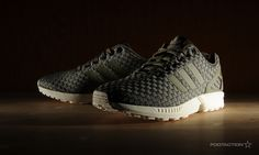 adidasZXFluxReflectiveWeave. Looks lumpy but still cool.