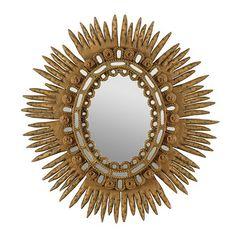 Antique Sunburst Mirror by Ballard Designs  I  ballarddesigns.com