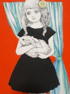 ヒグチユウコ画 きのこ展出品作品   2012年