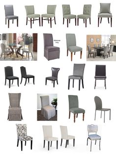 Surefit Dining Chair Covers 1 Wwwupholsterease  Dining Room Unique Grey Dining Room Chair Covers Decorating Inspiration