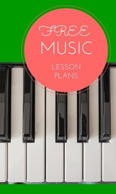 Free music lesson plan - a huge list of free music teaching resources  15.5.21