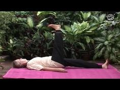 Yoga Exercise To Improve Blood Circulation - Eka Pada Uttanpadasana (Raised Leg Pose) - YouTube