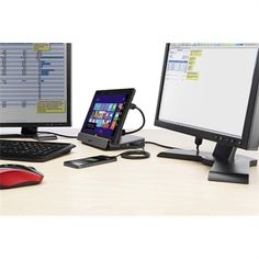 Windows 8 Tablet Dual Video Docking Stand with USB 3.0 | Other Hubs | Hubs & Docks | Macbook & PC | Products | Belkin USA Site