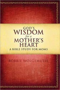 Bible Study for moms... looks good