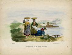 """""""Pêcheuses de St-Jean-de- Luz,                                                                    Sardine Fraiche"""""""