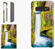 Waterfall Samsung Galaxy Case, Skin, Samsung Phone Cases, DAM Creative, Redbubble, #findyourthing #DAMcreative #ChristmasGiftIdeas #Samsung #Galaxy #Cases #Christmas #phonecasesforgalaxy #phonecasewallet #phonecasesnearme #phonecasesforsamsung #phonecaseart #phonecaseandwallet #phone #phonecase #case #mobile #mobilephone #galaxy #cool #design #whatphonecasefitsgalaxy #whichphonecaseisthebest #phonecaseshopnearme #phonecasemaker #phonecasewebsites #phonecasebrands #phonecaseideas Galaxy Phone Cases, Samsung Galaxy, Framed Prints, Canvas Prints, Art Prints, Samsung Cases, Iphone Cases, Peaceful Places, Ipad Case
