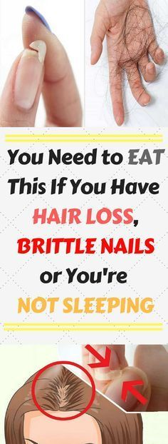 YOU NEED TO EAT THIS IF YOU HAVE HAIR LOSS, BRITTLE NAILS OR YOU'RE NOT SLEEPING