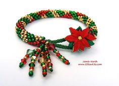 Buttoned-Up Kit - Poinsettia Plaid - Glitz n Kitz