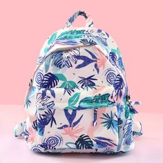 Fresh Waterproof Youth Carrot Triangle Cat Leaves Printing School Bag Student Backpack sold by needit. Pastel Backpack, Diy Backpack, Backpack For Teens, Laptop Backpack, Leather Backpack, Fashion Backpack, Cute Backpacks, Girl Backpacks, School Backpacks