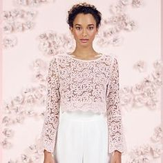 Scallop Lace Crop Top from Kohls.* Not every pin needs to be a designer. We can all afford this and it is on trend! Fashion is what we see, style is what we can get from what we see.
