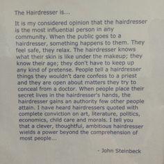 The Hairdresser by John Steinbeck