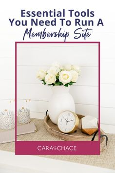 Learn valuable lessons from Cara Chace as she walks you through a detailed explanation of who and why she chose the tools she uses to run her successful membership site. Discover which tools are essential to keep your membership site working well for both you and your members.