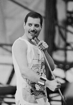 Freddie Mercury. All bless him. <3