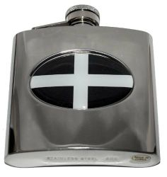 NCAA Tennessee Volunteers 6oz Stainless Steel Hip Flask Wrap Great American Products
