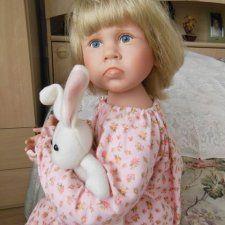 Обиженный ребенок от легендарной Джулии Фишер (Julie Fischer). / Коллекционные куклы (винил) / Шопик. Продать купить куклу / Бэйбики. Куклы фото. Одежда для кукол