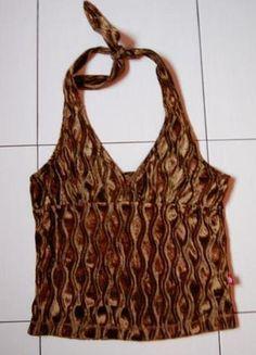 Kup mój przedmiot na #Vinted http://www.vinted.pl/kobiety/koszulki-na-ramiaczkach-koszulki-bez-rekawow/4314988-musztardowy-top-na-szyje-z-weluru-vintage