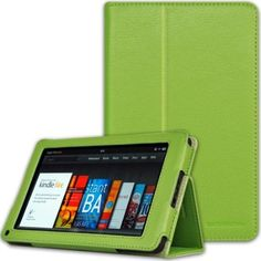 Amazon.com: CaseCrown Bold Standby Case (Green) for Amazon Kindle Fire Tablet (Not Compatible with Kindle Fire HD 7): Computers & Accessories