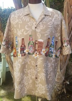 Pacific Legend Hawaiian Aloha Beer Tiki Themed Mens 2XL Made in Hawaii Shirt | Clothing, Shoes & Accessories, Men's Clothing, Casual Shirts | eBay!