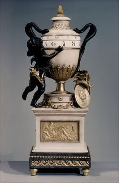 1775-1790 French Clock at the Metropolitan Museum of Art, New York