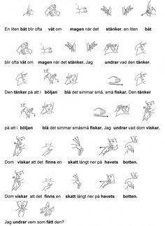 Mariaslekrum - Tecken. Sign Language Book, Swedish Language, Preschool, Asl Sign Language, Musik, Kid Garden, Kindergarten, Preschools, Kindergarten Center Management