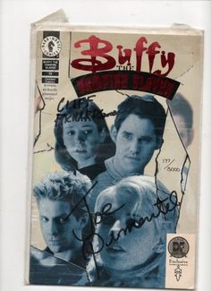 Buffy The Vampire Slayer Dynamic Forces Signed Comic with COA Comics Love, Comics For Sale, Comic Books Art, Book Art, Buffy The Vampire Slayer, Indie, Geek Stuff, Star Wars, Marvel