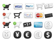 26 Ecommerce Shopping Cart Icons Set PNG - http://www.dawnbrushes.com/26-ecommerce-shopping-cart-icons-set-png/