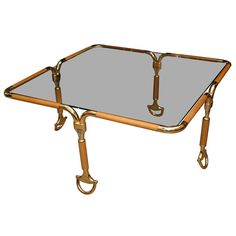 Mantiques Modern / Rare Gucci Horse B it Table