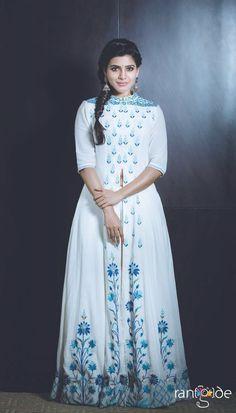Samantha Ruth Prabhu in Anita Dongre @ Brahmotsavam promotions #anitadongre…