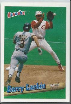 Barry Larkin – 1996 Topps Bazooka #97