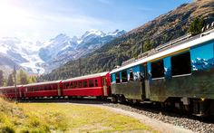 Bernina Express, Switzerland and Italy
