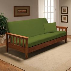 Kohl's Jersey Stretch Futon Slipcover With Pillow