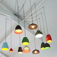 Colourful Light Art