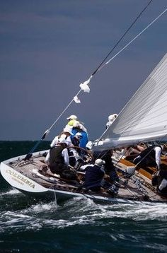 Sailboat Yacht, Yacht Boat, Sailing Yachts, America's Cup, Sailing Regatta, Classic Yachts, Oceans Of The World, Sail Away, Speed Boats