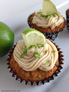 Paleo Key Lime Muffincakes! cleaneatingwithadirtymind.com