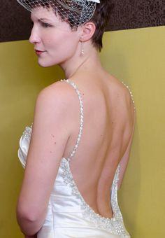 2015 ist bei Brautkleidern rückenfrei angesagt.