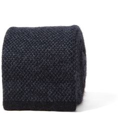 039eebda2f264 Charcoal Birdseye Cashmere Knit Tie